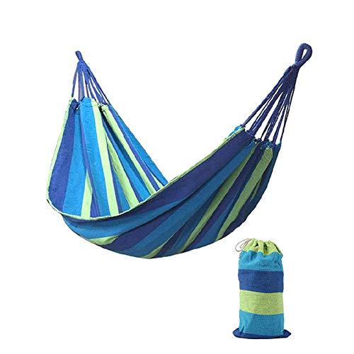 AFFC Camping Hängematte Fallschirm Hängematte - tragbare Indoor Outdoor Rucksack Überleben und Reisen, Wandern, Hof, Strand, Reisen,B