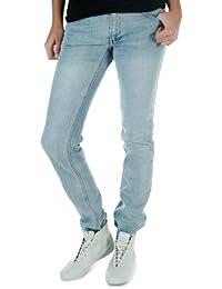 Adidas Originals-Jean W Cupie Skinny Femme Bleu V14984