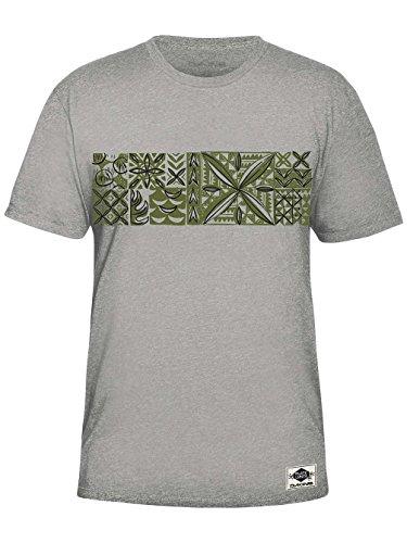 Herren T-Shirt Dakine Plate Lunch T-Shirt Heather Grey