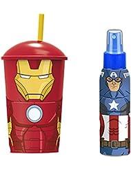 The Avengers Coffret Sac d'Eau de Toilette 100 ml + Verre
