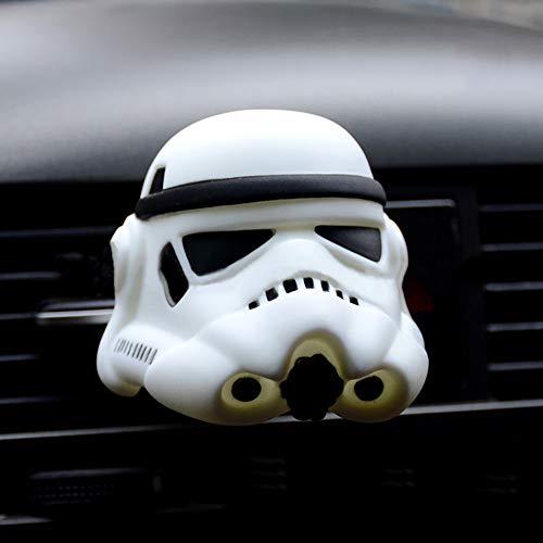 TUDUDU Auto Sfiati Profumo Clip Deodorante per Star Wars Bambola Automotive Interni Profumo Odore Diffusore Purificatore d'Aria Accesso