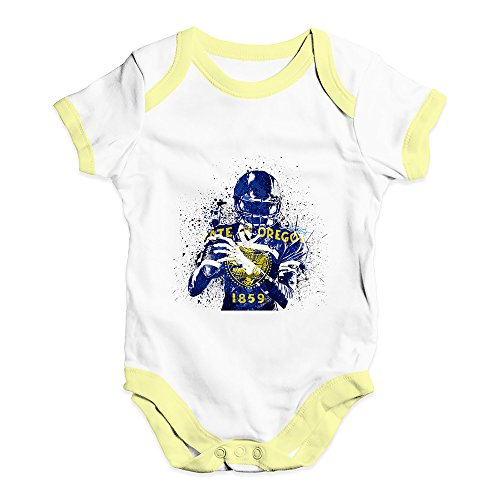 TWISTED ENVY Baby Girl Clothes Oregon American Football Player