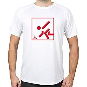 buXsbaum® Sport Performance T-Shirt Stockschießen Piktogramm