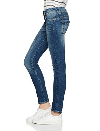 Cross Damen Skinny Jeans Melissa Blau (Dirty Blue 126)