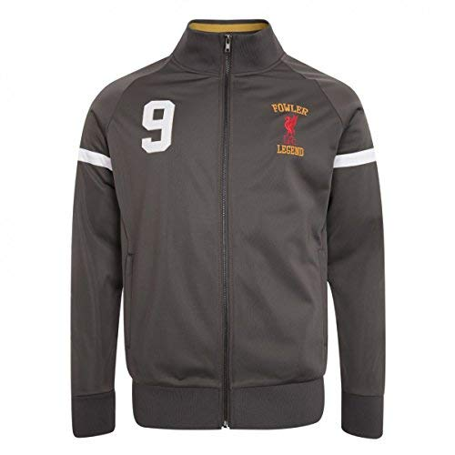 FC Liverpool Robbie Fowler Trackjacket (Grey, M)
