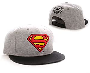 Superman - Casquette baseball Vintage Logo grey