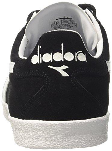 Diadora B.Original VLZ, Sneaker a Collo Basso Uomo Nero (Nero/Bianco)