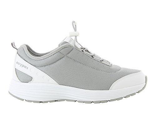 Oxypas Maud Damen Arbeits- und Sicherheitsschuhe | Sneaker, Farbe: Grau, Größe: 42