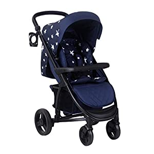 My Babiie Abbey Catwalk Navy Stars Pushchair   12