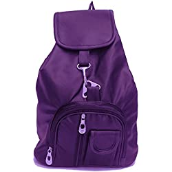 Premium Quality Stylish girl collage backpack (Purple)