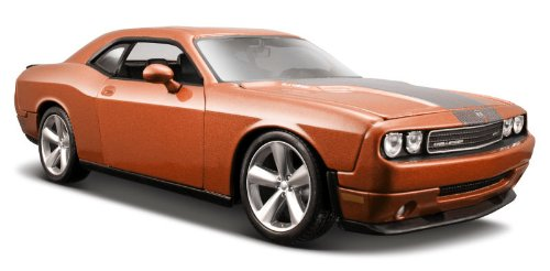 2008-dodge-challenger-srt8-maisto-31280-orange-124-die-cast