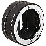 Glück-express Viltrox Macro Bague-allonge automatiques professionnelles (2 pièces : 10 mm 16 mm) pour Sony NEX, sony nex 3N, sony nex 6, sony nex 5t, sony nex 3, sony nex 5, sony nex 7 etc.