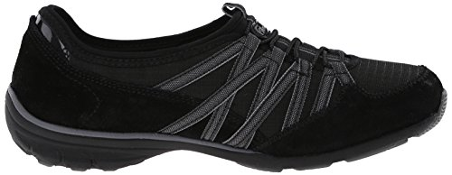 Skechers Conversations, Baskets Basses Femme Charcoal/Black