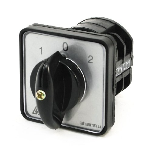 Aexit Dreh Nocken 1-0-2 3 Position Umschaltung Kombination Schalter 4 Terminal de (W/ 4 Nocken)