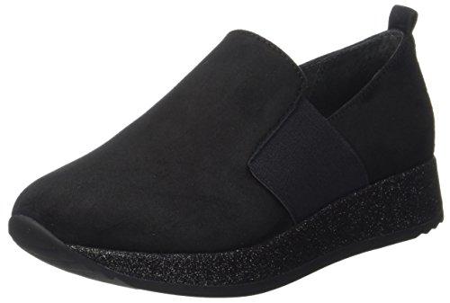 Gabor Shoes Gabor Fashion, Derby Femme Noir (Schwarz)