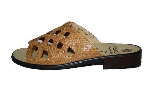 Ganter Clio 7.203017, Donna Pantofole, Ampiezza F Sahara