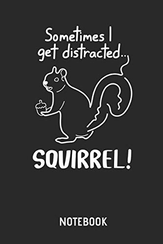 Eichhörnchen  |  Notizbuch: Liniertes Schreibheft mit Eichhörnchen Bild / Zeichnung für Frauen, Männer & Kinder. Tolle Geschenk Idee für alle Eichhörnchen Freunde. (Mann Im Eichhörnchen Kostüm)