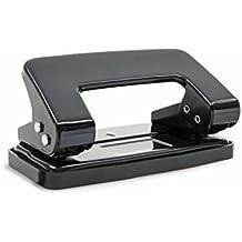 Rapesco 50 - Perforadora metálica de 2 agujeros y con 8 hojas de capacidad, incluye ventana de personalización, surtido: colores aleatorios