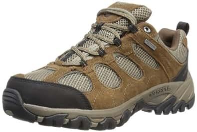 Merrell Hilltop Ventilator Waterproof, Men's Trekking and Hiking Shoes, Grey (Gunsmoke/Black), 12 UK