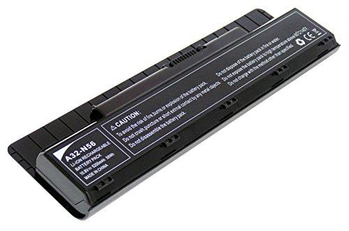 10.8V 5200mAh Ersetzen Laptop akku A32-N56 Li-Ion 6Zellen für ASUS N46 N56 N76 R401VB R501VB R701VB G56JK G56JR