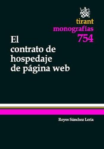 El contrato de hospedaje de página web por Reyes Sánchez Lería
