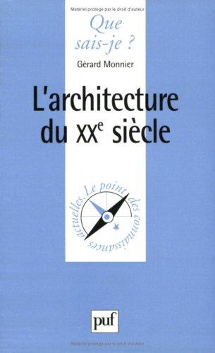L'Architecture du XXe siècle
