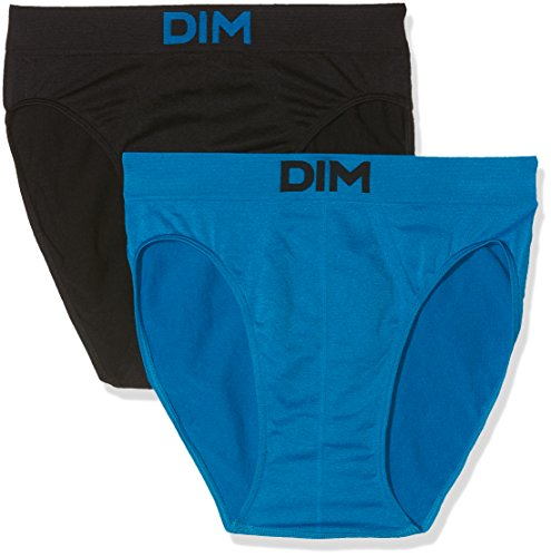 Unno DIM Basic Herren Slip, 2er Pack blau (blau 5wl)