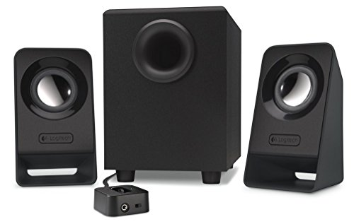 Foto de Logitech Z213 - Altavoces multimedia 2.1, color negro