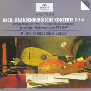 Bach : Concertos Brandebourgeois 4, 5, 6 - Suite pour orchestre BWV 1069