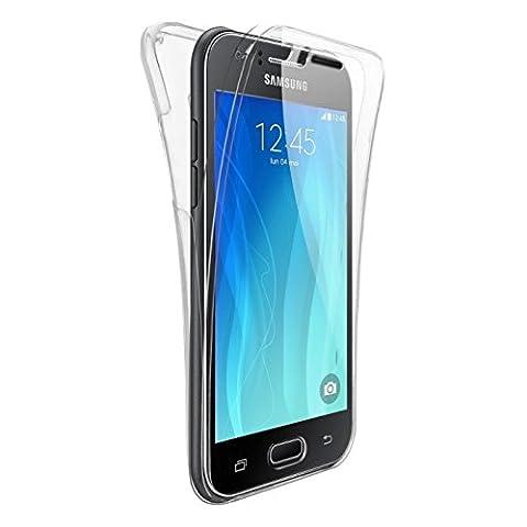 Samsung J 5 Telephone - CABLING® Coque Galaxy J5 2016, [Silicone Case][Transparente