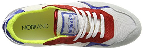 NoBrand Krewella, Baskets Basses femme Multicolore - Mehrfarbig (silver)