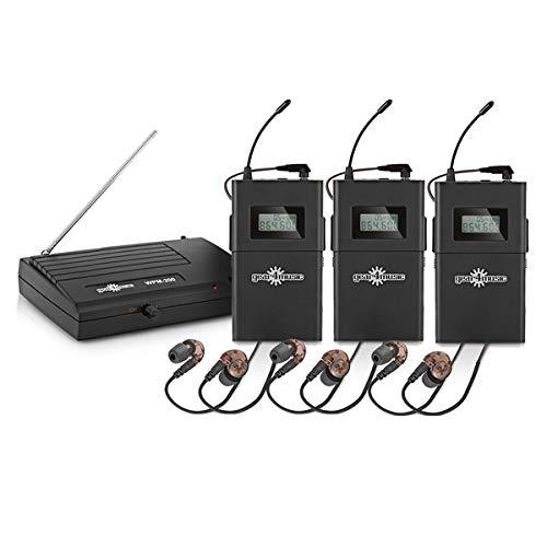 Sistema Monitorizacion In-Ear Inalambrico