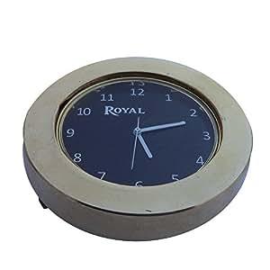 BikenWear STM-NT-CLK Stem Nut Clock for Royal Enfield
