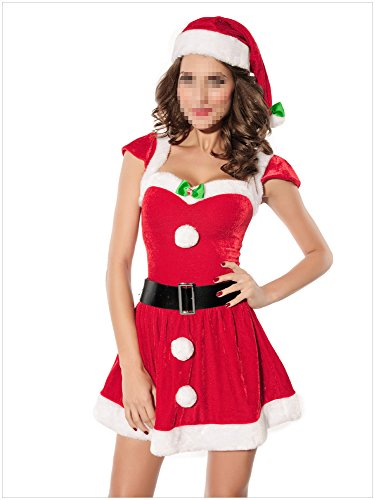 Paplan Damen-Sankt-Weihnachtskostüm Geschenk Cosplay Tanz-Kleid