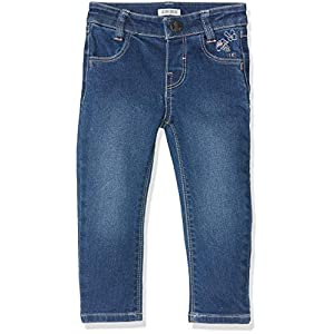 IKKS Junior Denim Bleu Broderies Jeans para Bebés 15