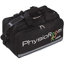 Nueva Bolsa Deportiva Primeros Auxilios PhysioRoom - 45cm x 26cm x 27cm - Maletín Médico Nylon Reforzado Color Negro