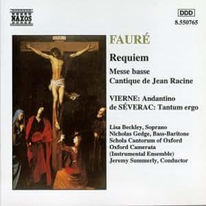 Fauré: Requiem/Cantique de Jean [MINIDISC]