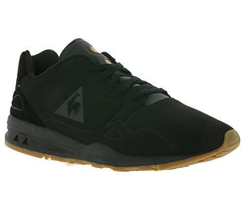 Le Coq Sportif Uomo Nero LCS R9XX S Nubuck Sneakers Noir