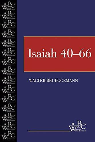 Isaiah 40-66: 40-66 Vol 2 (Westminster Bible Companion)