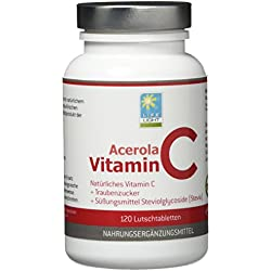 Life Light Acerola Vitamin C (120 Lutschtabletten)