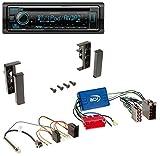 Kenwood KDC-BT530U AUX MP3 Bluetooth USB CD Autoradio für Audi A2 A3 8L A4 B5 A6 C5 Aktivsystem