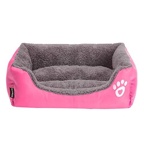 Modern, besonders weich, warm, Bett, für Hunde, Katzen, Teppich, Katzen, Schlafkissen, Kostüme für den täglichen Gebrauch (Rosa), (Iglu Kostüme)