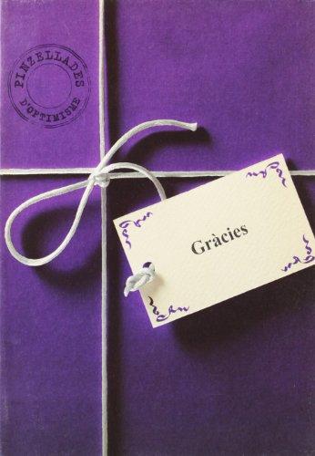 Portada del libro Gràcies (Felicitat a la carta)