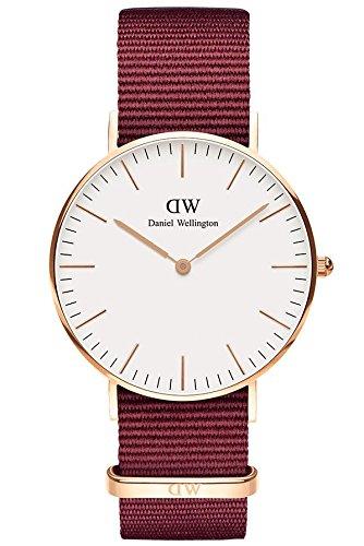Daniel Wellington Unisex Adult Analogue Quartz Watch with Textile Strap DW00100271