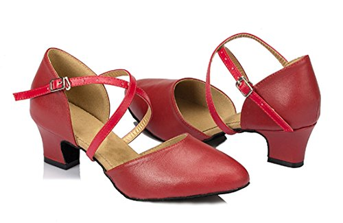 TDA - Sandali con Zeppa donna 4.5cm Heel Red