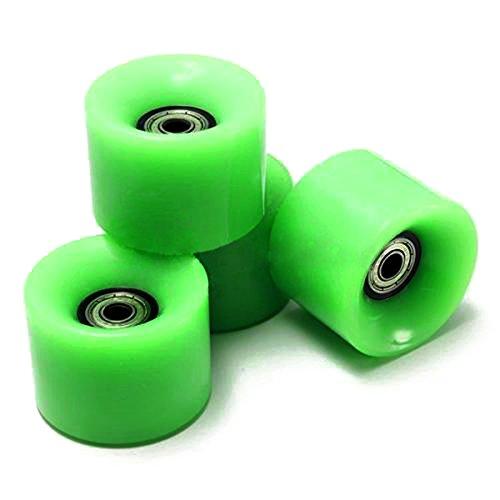 Skateboard Raeder - SODIAL(R) Set von 4 Skateboard Raeder 6 cm Durchmesser und 4,5 cm Breite Fuer Penny - Gel Räder Skateboard
