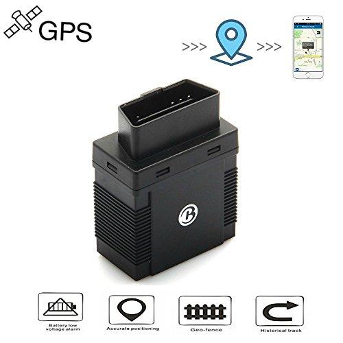 OBDII GPS Tracker, TKSTAR Auto LKW GPS Verfolger Echtzeit Positionierung GPS Ortung Mini GSM GPRS GPS Außen Navigation mit Fahrzeug Wartungshinweis Funktion mit Freier APP TK306