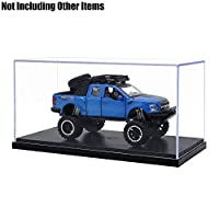 Tingacraft Acrylic Display Case (24.8 x 12 x 11.5 cm) for 1/24 Model Car, No Assembly Required