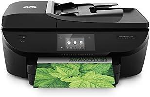 HP Officejet 5740 e-All-in-One Drucker (Scanner, Kopierer, Fax, Drucker, 4800 x 1200) schwarz