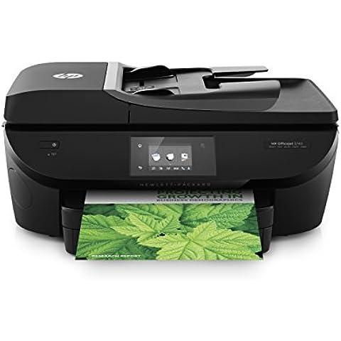 HP OfficeJet 5740 e-AiO - Impresora multifunción de tinta - B/N 12 PPM, color 8 PPM